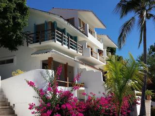 Cliff overlooking, Huatulco Mexico