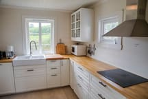 The kitchen was renovated in 2015 - and has all amenities you may need.