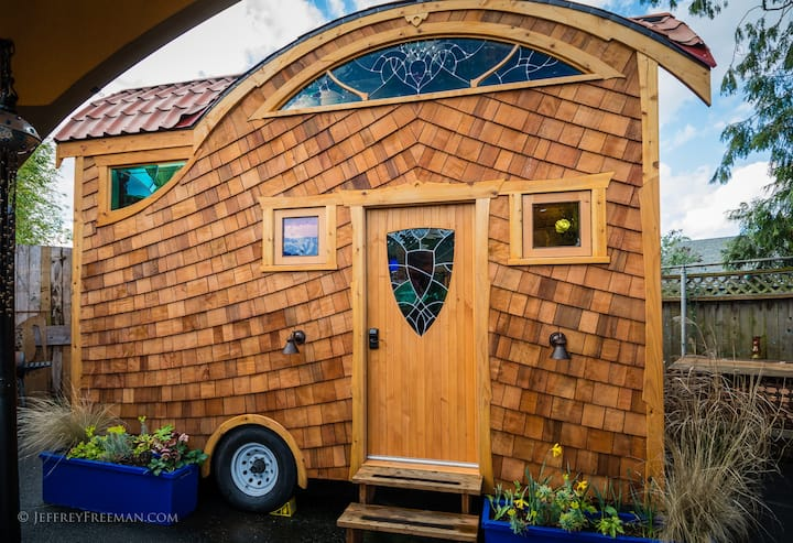Caravan- The World's First Tiny House Hotel!