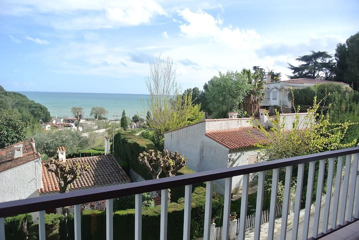 Natural beaches 2 mins walk, Sol Luna Vista al mar - Canet de Mar - Flat