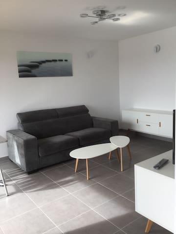 Beau studio vue mer - Sausset-les-Pins - Appartement