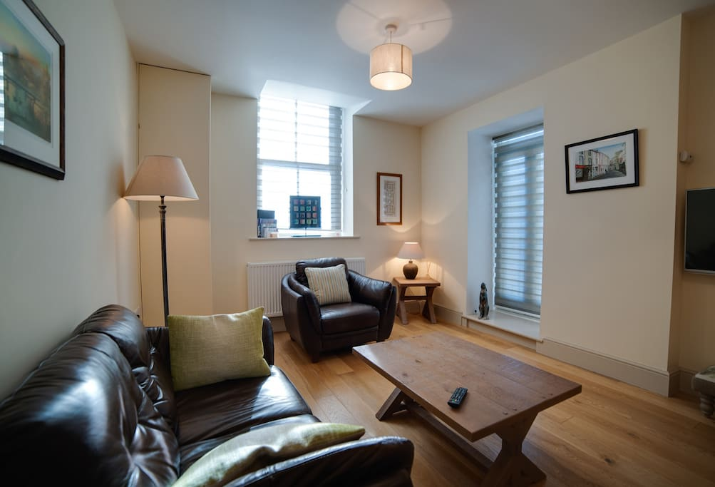 Cosy living room with quality furnishings.