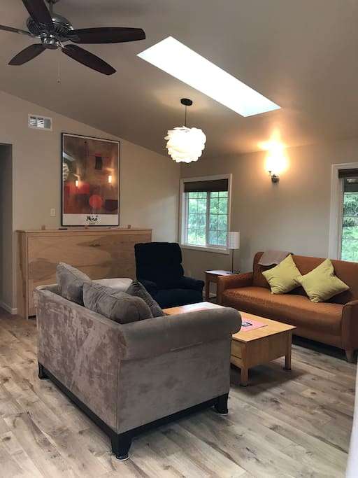 Living room, just off the deck