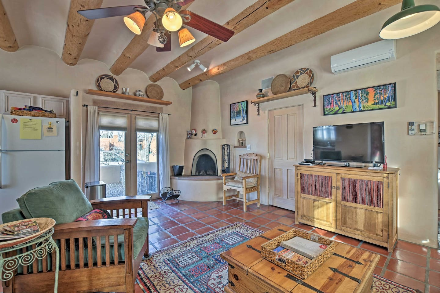 This 2-bedroom, 2-bath vacation rental home in Santa Fe is the perfect retreat!