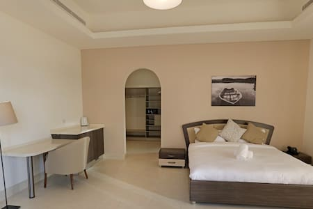 Family Suite in a Shared Villa