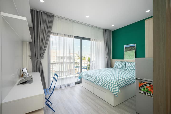 NamAn Stay -1BR Near Airport-Free Cleaning Fee2