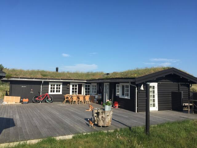 Luxury cosy home near sandy beach - Skagen - Houten huisje