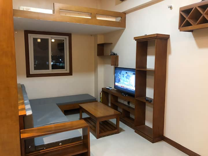 Newly build condo 32sqm, near airport, near outlet
