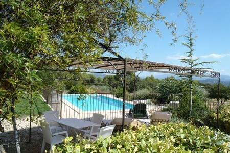 Vue et Tranquillité de Provence - Joucas