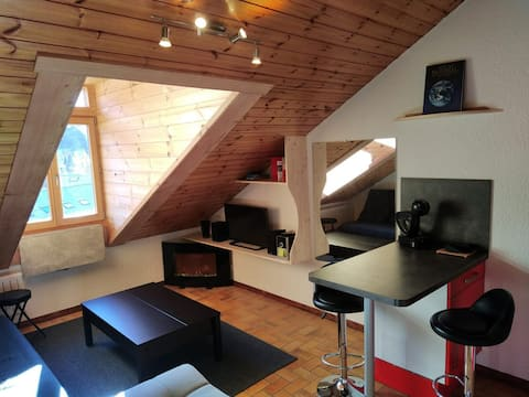 Fully equipped apartment well located Serre-Chevalier