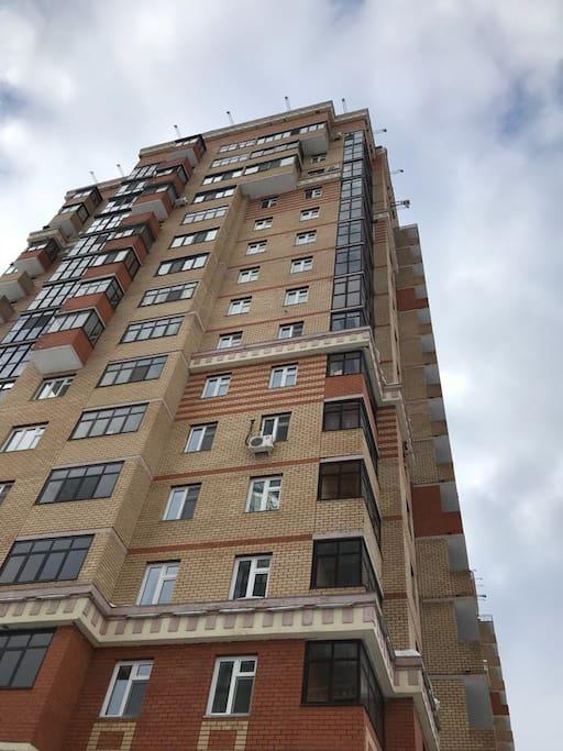 Вид снаружи