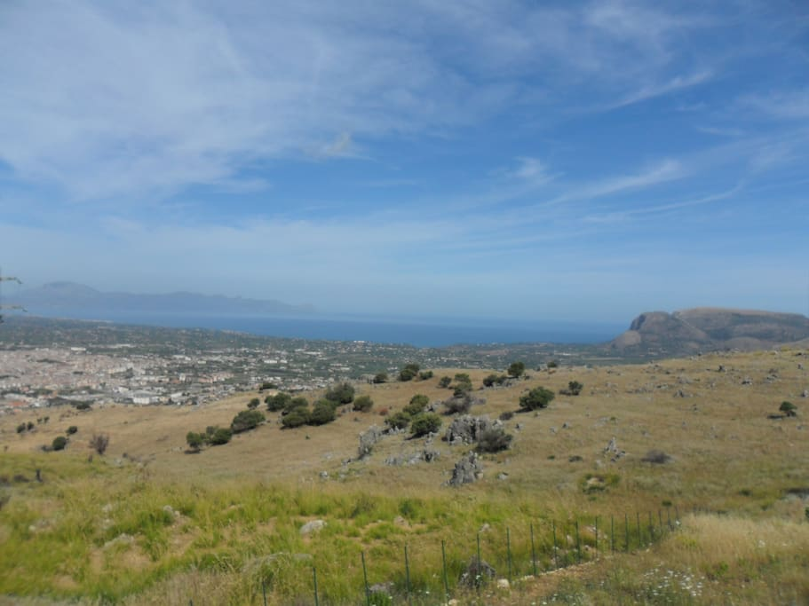 View on the Gulf of Castellammare