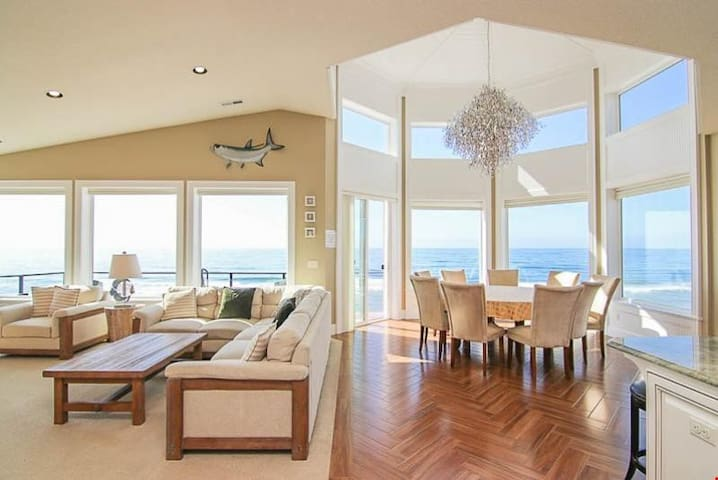 Crown Jewel - Luxurious Oceanfront Home w/ Private Beach Access, Hot Tub, Sauna and MORE!