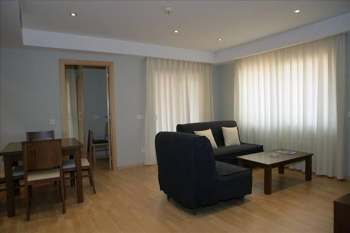 Aparthotel céntrico ideal familias con desayuno buffet y limpieza diaria incluida