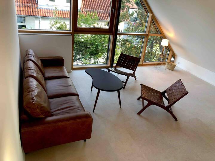 70m²  Dachterrassenwohnung in Neubau