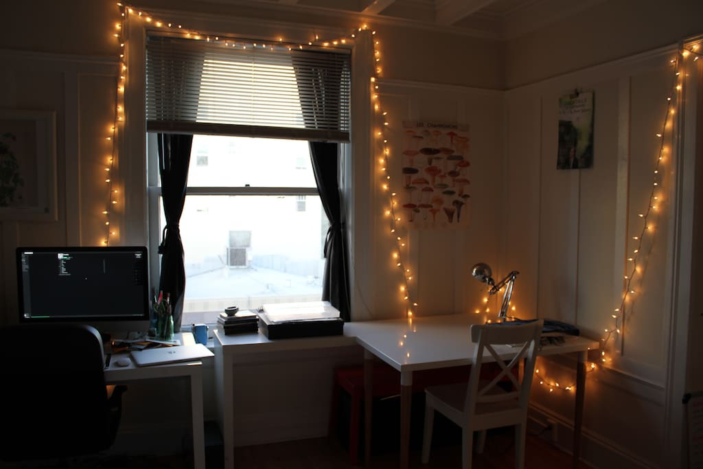 Fairy Lights around the room