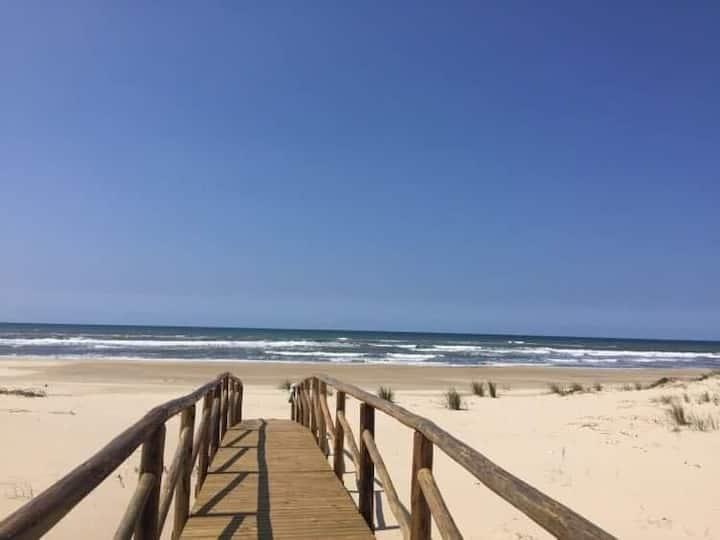 Descanse em uma bela casa de praia!