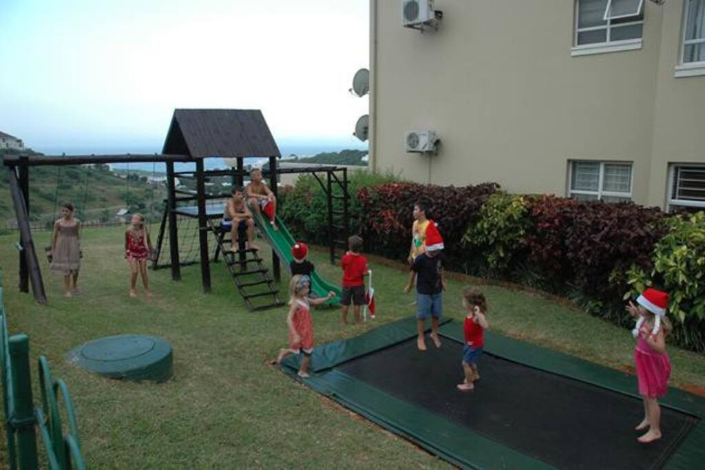 Lovely communal play area for children