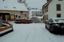 Blaubach im Winter
