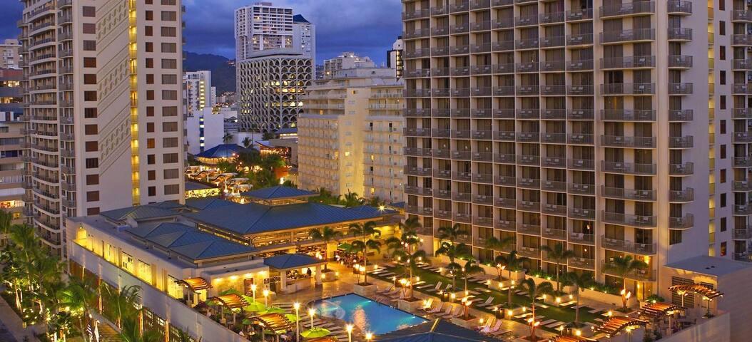 Honolulu, Hawaii Wyndham at Waikiki Beach Walk