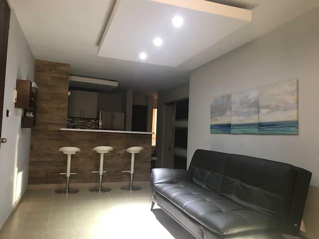 Cómodo y céntrico apartamento en San Juan