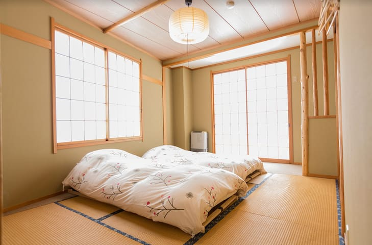 Traditional Japanese Room in Lodge Nagano Y3
