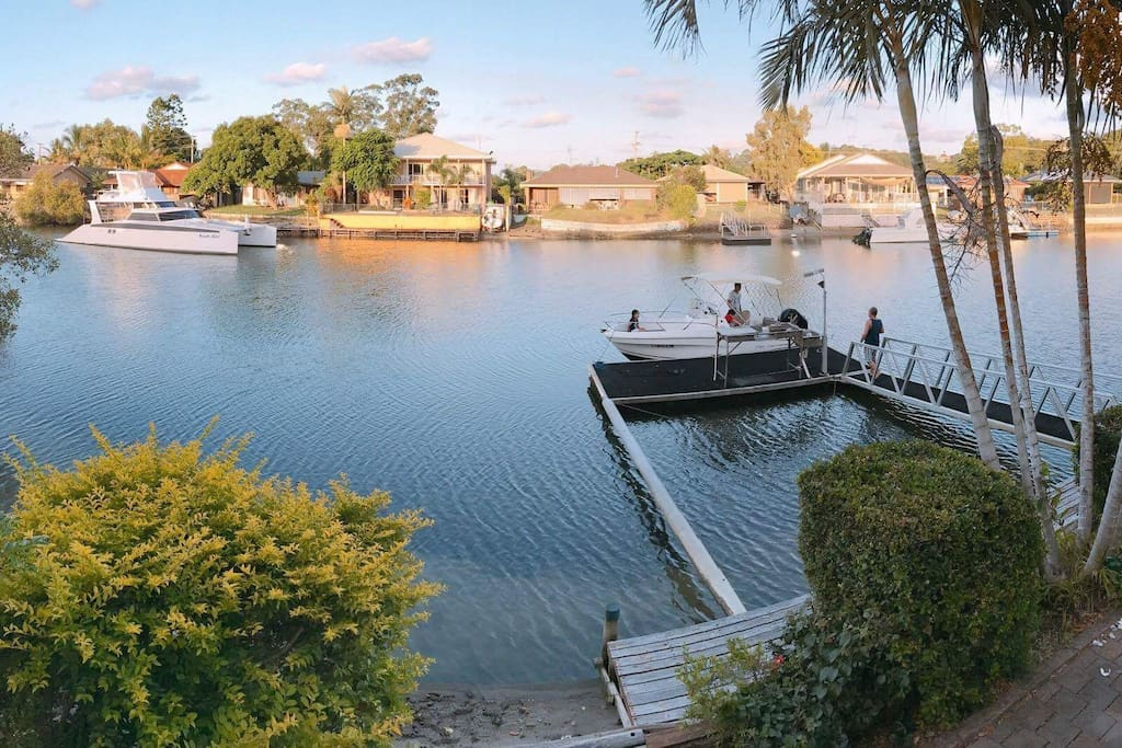 For the keen fisherman, throw in a line and catch fish on your private jetty.