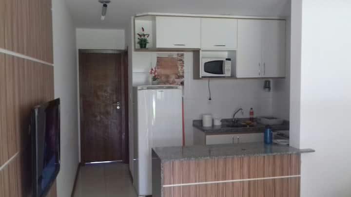 Apartamento 1/4 completo Guarajuba com piscina
