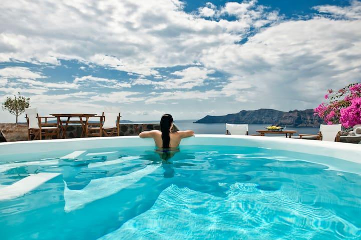 Gaia villa by Anemomilos