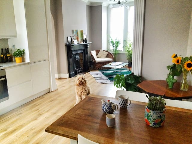 Beautiful Private bedroom near Tube - London - Townhouse