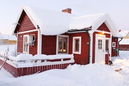 Log house near IceHotel - Northern light - WIFI - Kiruna N