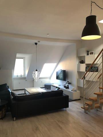Moderne Maisonette Wohnung im Herzen Erfurts