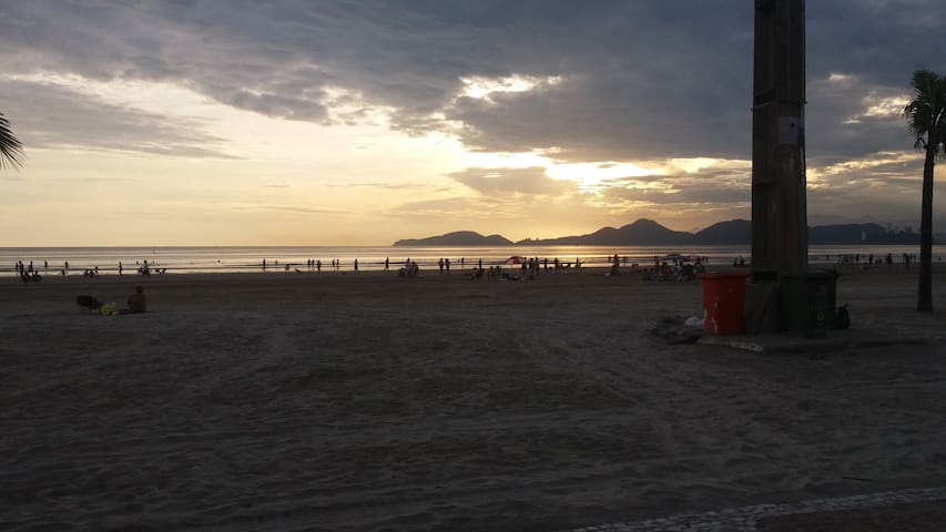 Vista da Praia em Frente ao Prédio