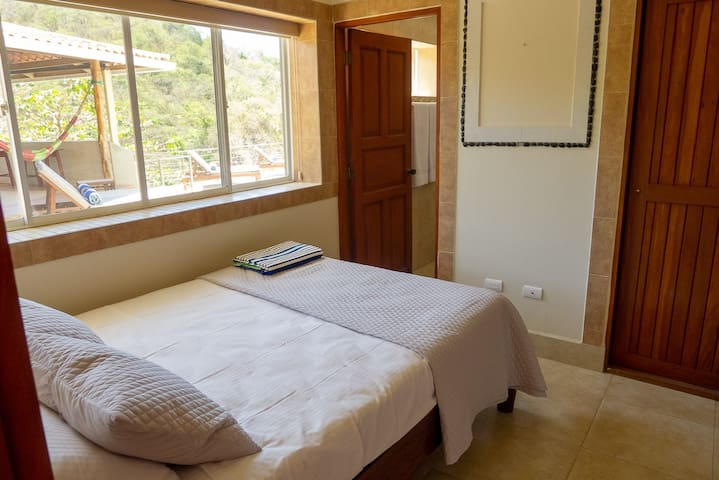 Fourth bedroom is located off the pool area.