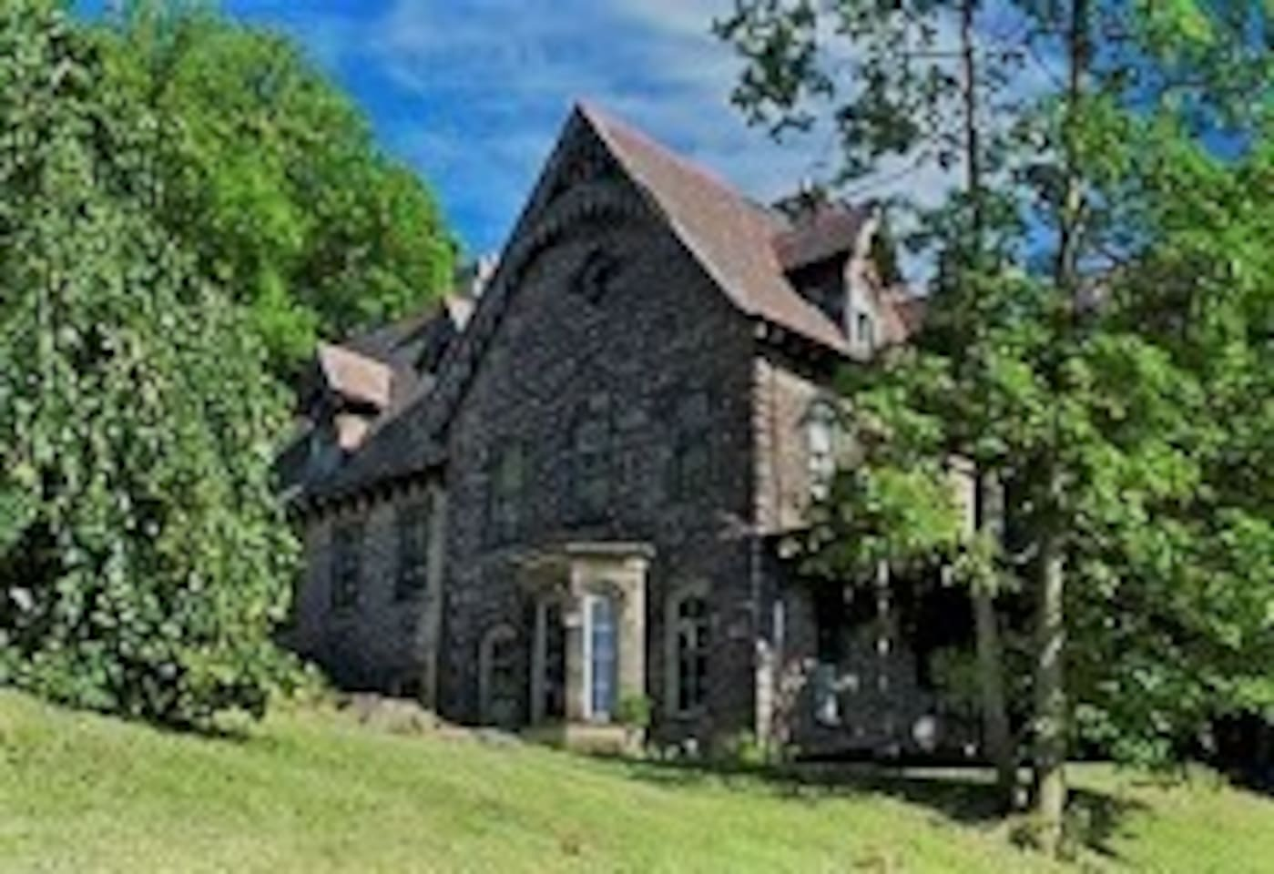 John F. Singer House Historic Landmark Gothic Manorhouse Built 1863-1868