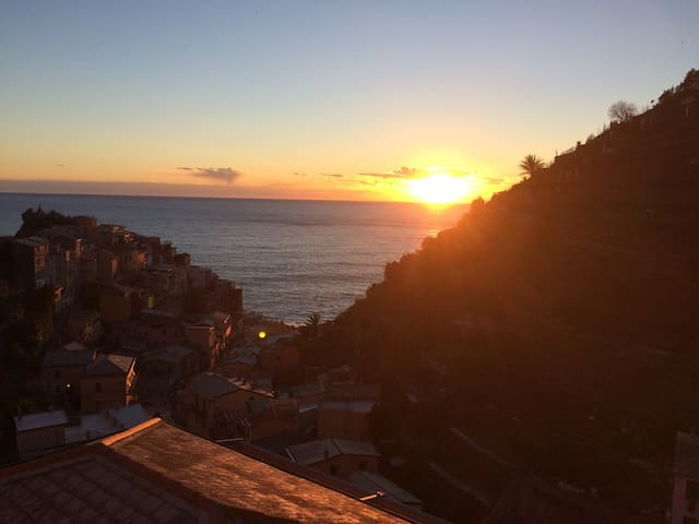New apartment with amazing seaview! - Manarola - Appartement