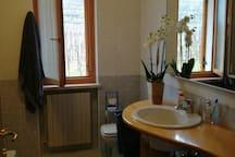 Il bagno privato per i nostri ospiti