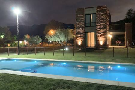 Awesome Duplex in San Roque Commune with S. Pool
