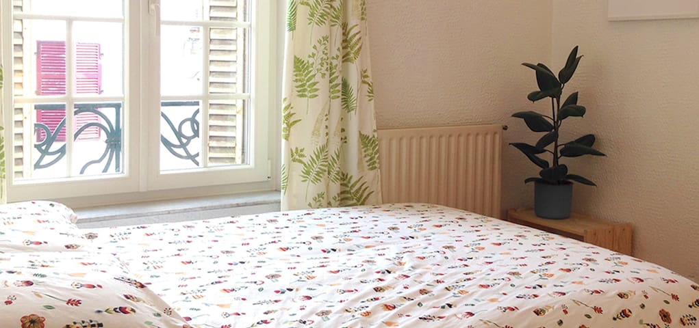 Studio calme et cosy avec 2 lits deux places - Nancy