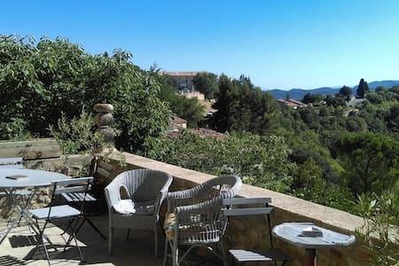 Maison superbe vue Luberon/Forcalquier/piscine... - Lurs