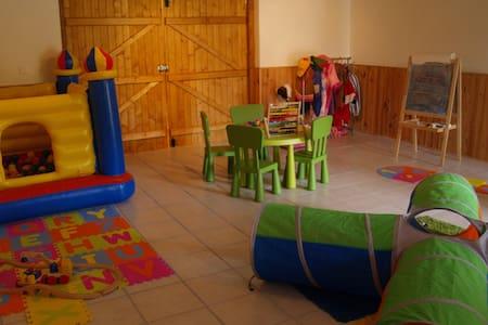 * Maison rurale pour les familles - Benassay