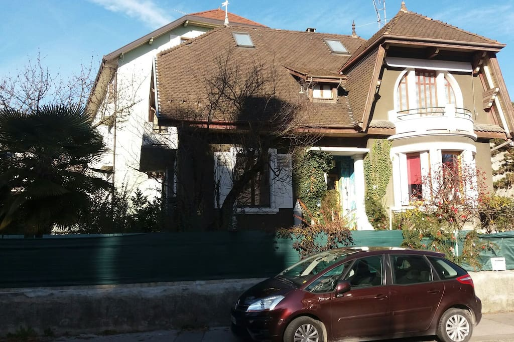 Charming house with garden in the centre of Annecy 3mn from the lake 5 mn from the hart of the city