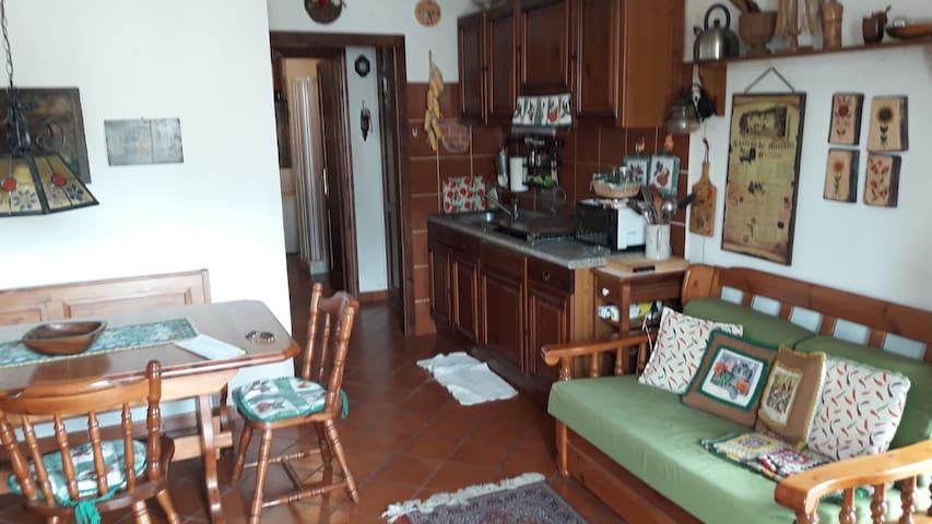 Appartamento in centro ad Ovindoli
