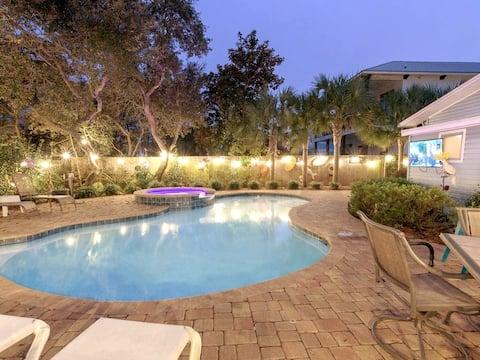 ⛱ Private Heated Pool/Hot Tub ⛱ No Service Fees! ⛱ Zula Life Beach House