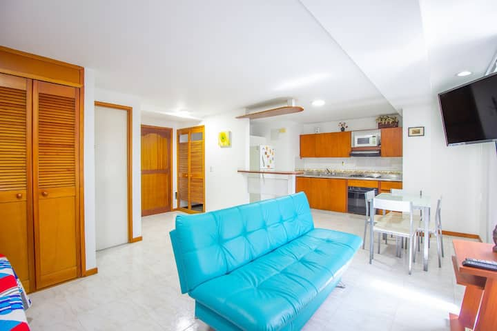 Luxury Laureles Apartment ⭐ close to everything ✔️