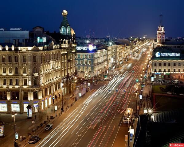 Невский проспект 88 Apartments