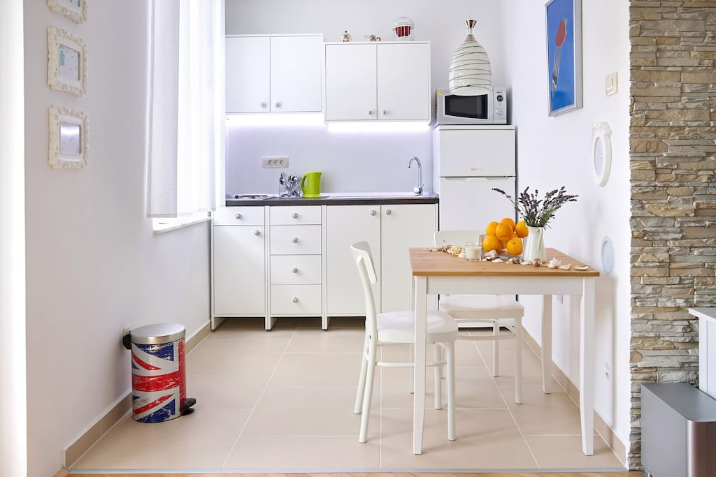 Kitchen - equipped with most of the necessary assets
