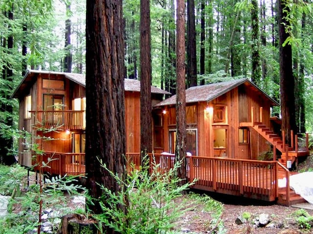 Secret Garden Redwoods Creek Hot Tub Casas En Alquiler En Cazadero California Estados