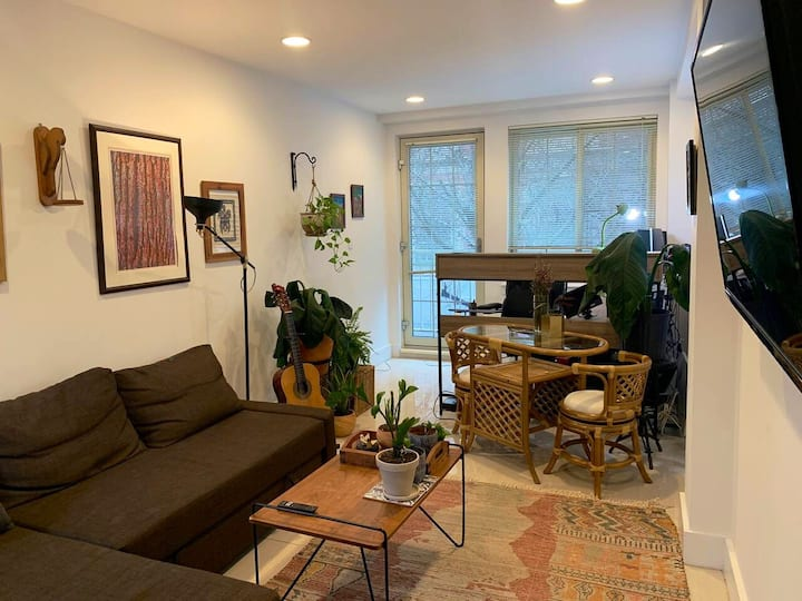 Furnished 1 Br by Central Park