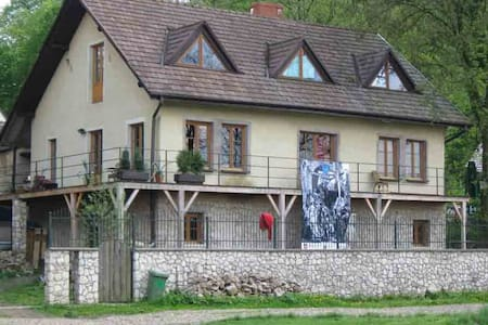 Pokoje w domu w Tyńcu nad Wisłą - Kraków